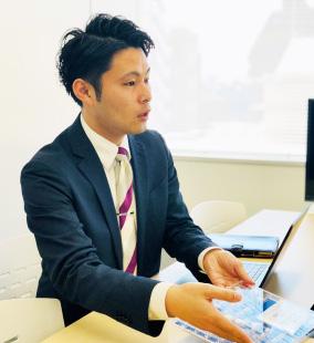社員インタビュー写真01